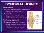 synovial joints74