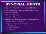 synovial joints75