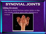 synovial joints79