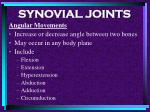 synovial joints80
