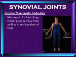synovial joints84
