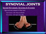 synovial joints89