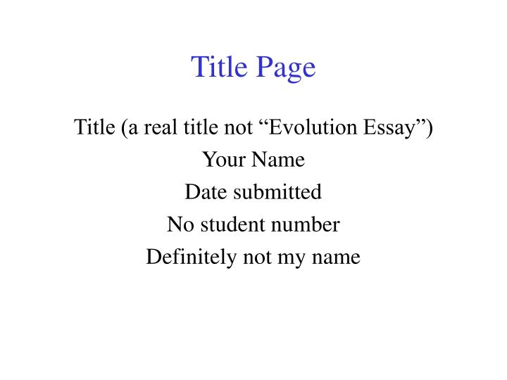 Ppt Title Page Powerpoint Presentation Free Download Id