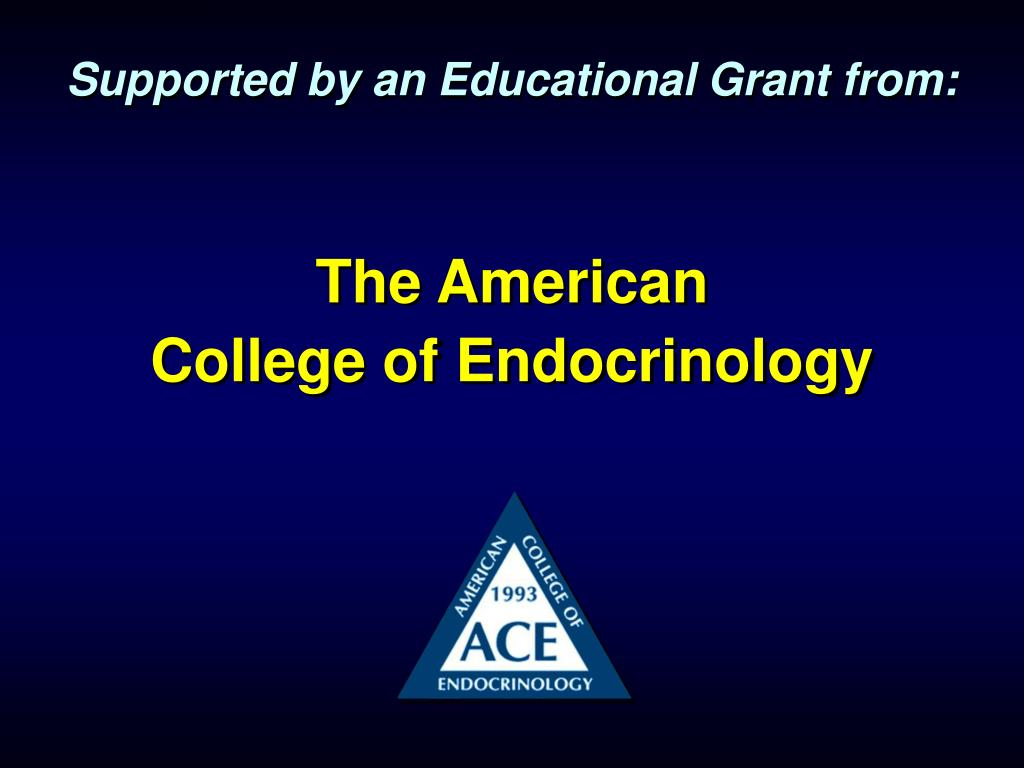 Supported by an Educational Grant from: