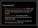 digression 1