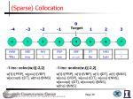 sparse collocation