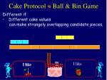 cake protocol ball bin game62