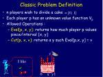 classic problem definition6