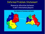 informal problem statement80