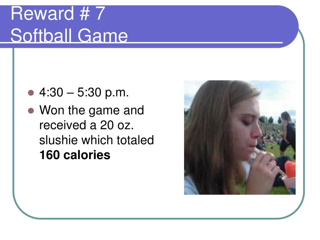 Reward # 7