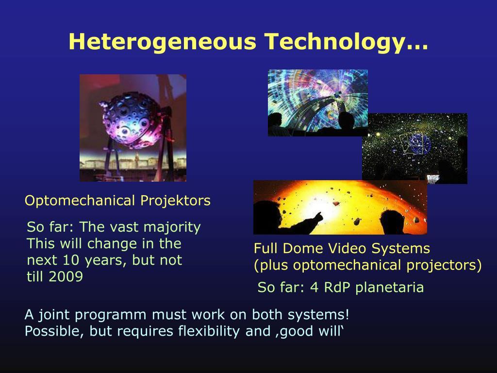 Heterogeneous Technology…