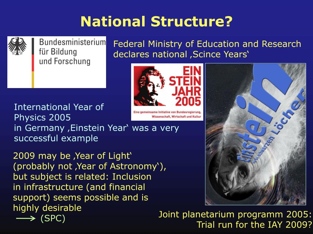National Structure?