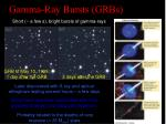 gamma ray bursts grbs