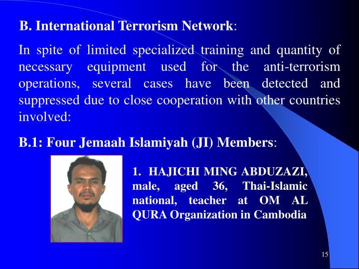 B. International Terrorism Network