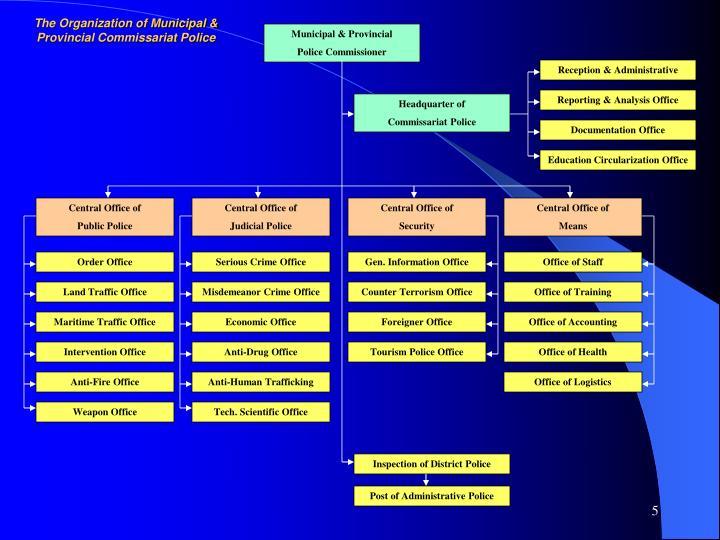 Municipal & Provincial