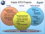 kepler epo projects