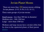 jovian planet moons