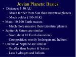 jovian planets basics