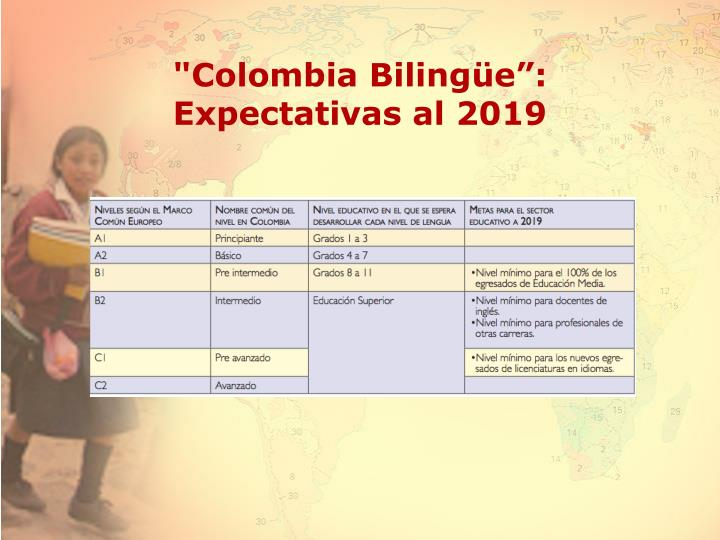 """""""Colombia Biling"""