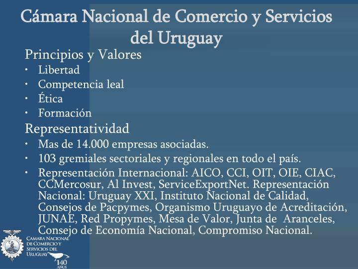C mara nacional de comercio y servicios del uruguay1