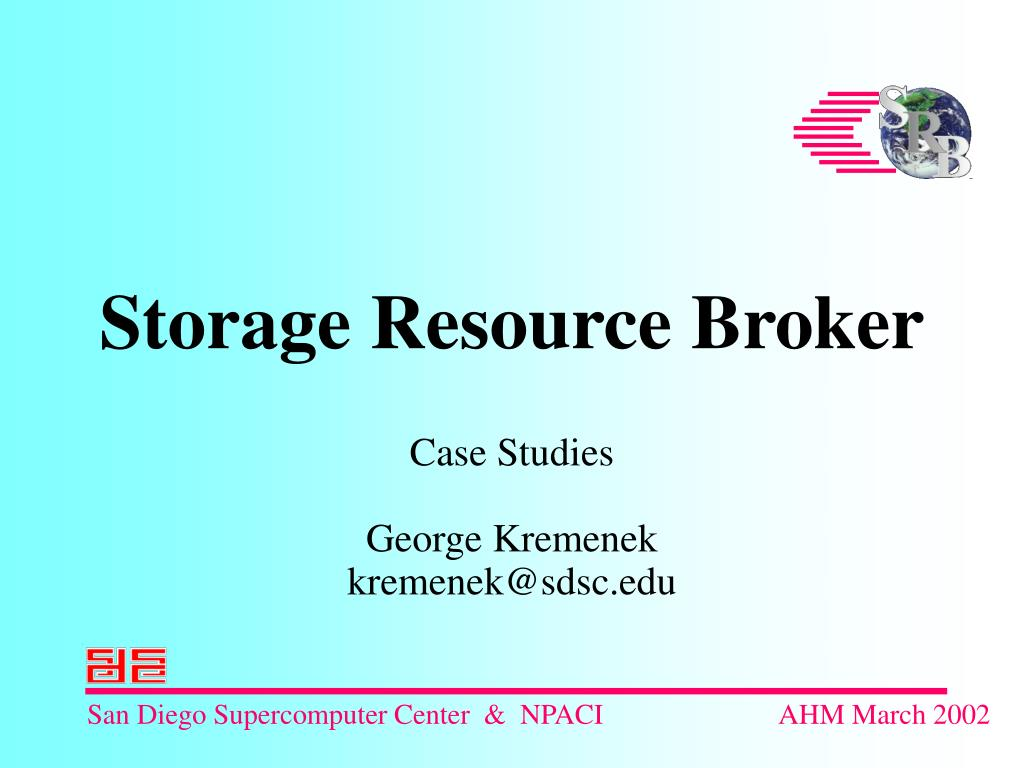 storage resource broker l.