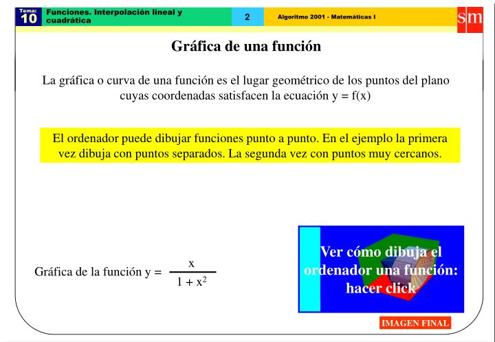 Funciones interpolaci n lineal y cuadr tica1