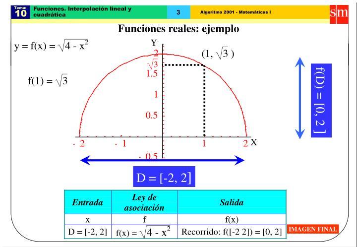 Funciones interpolaci n lineal y cuadr tica2