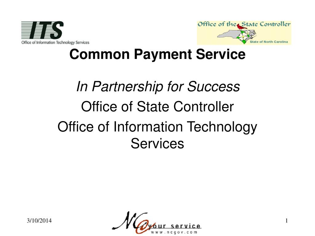 common payment service l.