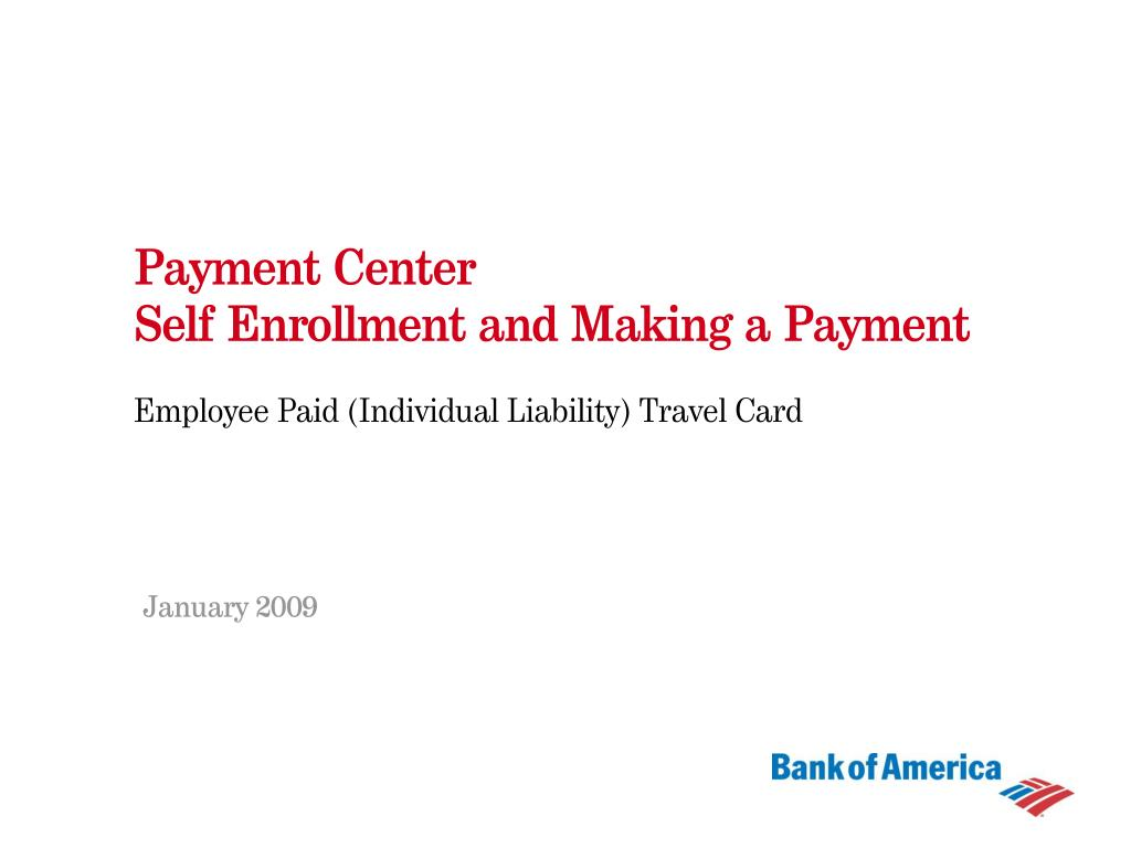 payment center self enrollment and making a payment l.
