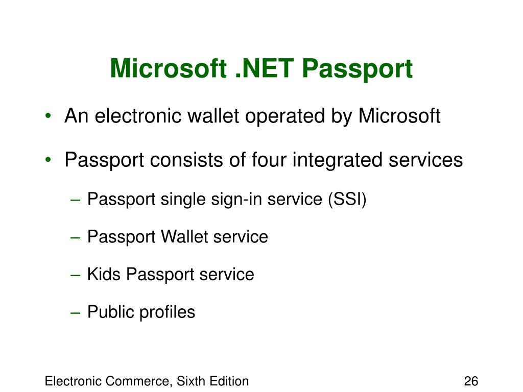 Microsoft .NET Passport