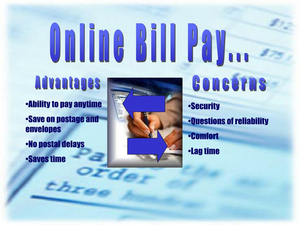 Online Bill Pay...