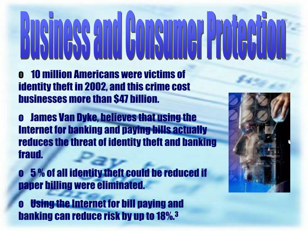 Business and Consumer Protection