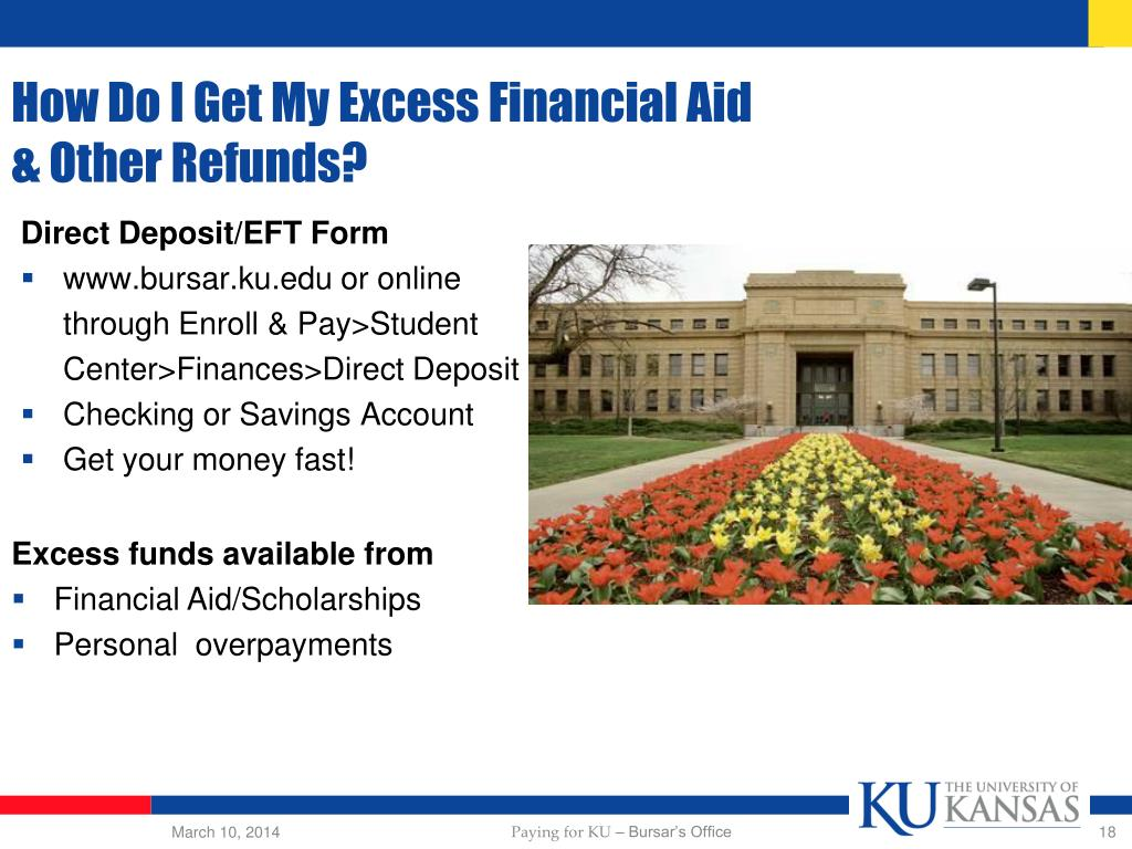 How Do I Get My Excess Financial Aid