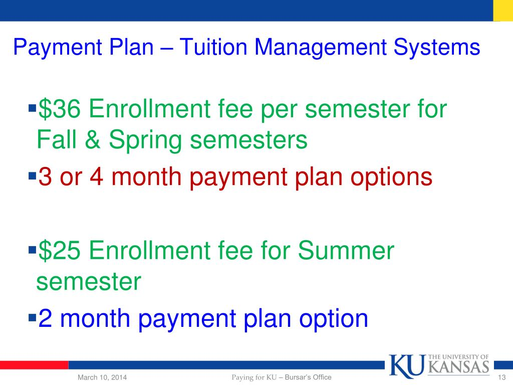 Payment Plan – Tuition Management Systems