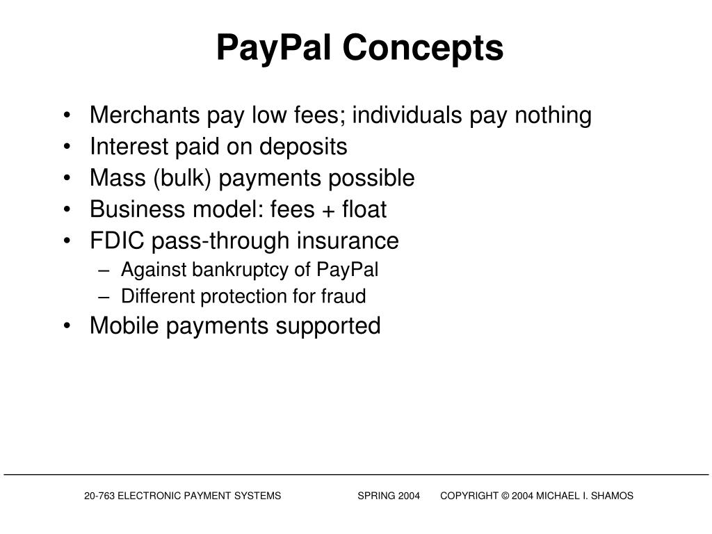 PayPal Concepts