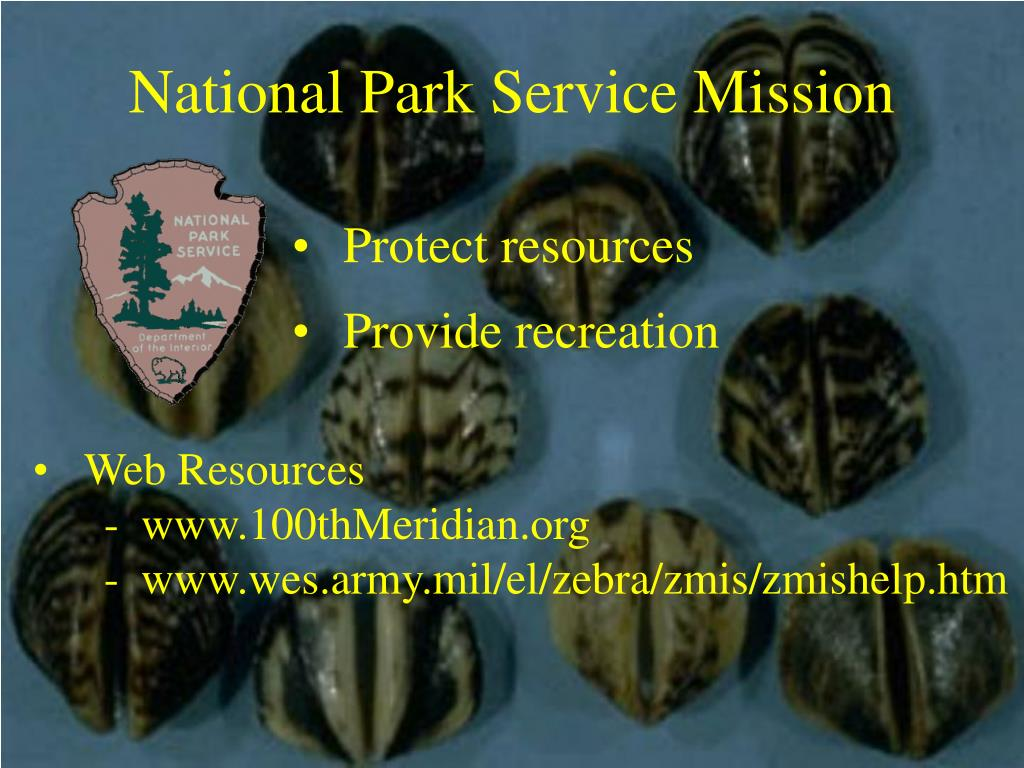 National Park Service Mission