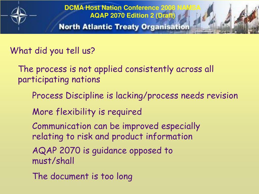 Nato standard aqap-2070 nato mutual government quality assurance (gqa).