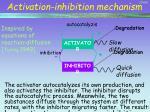 activation inhibition mechanism