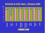 azalea ilex vigor windsor 2000