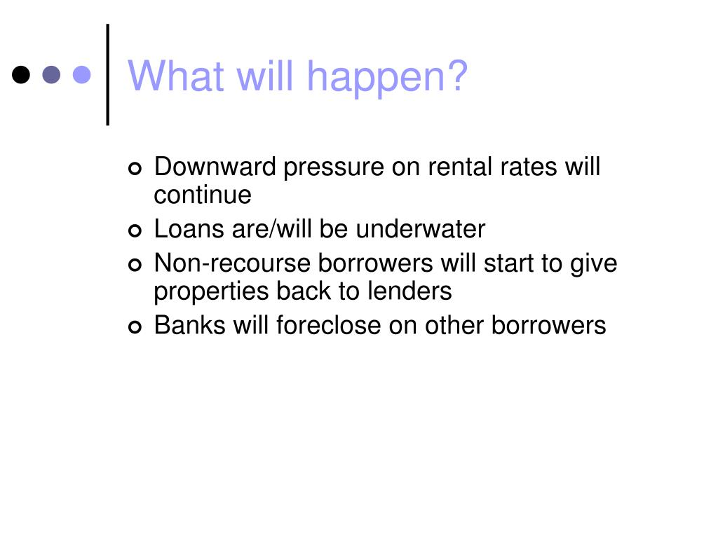 What will happen?