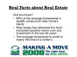 real facts about real estate7