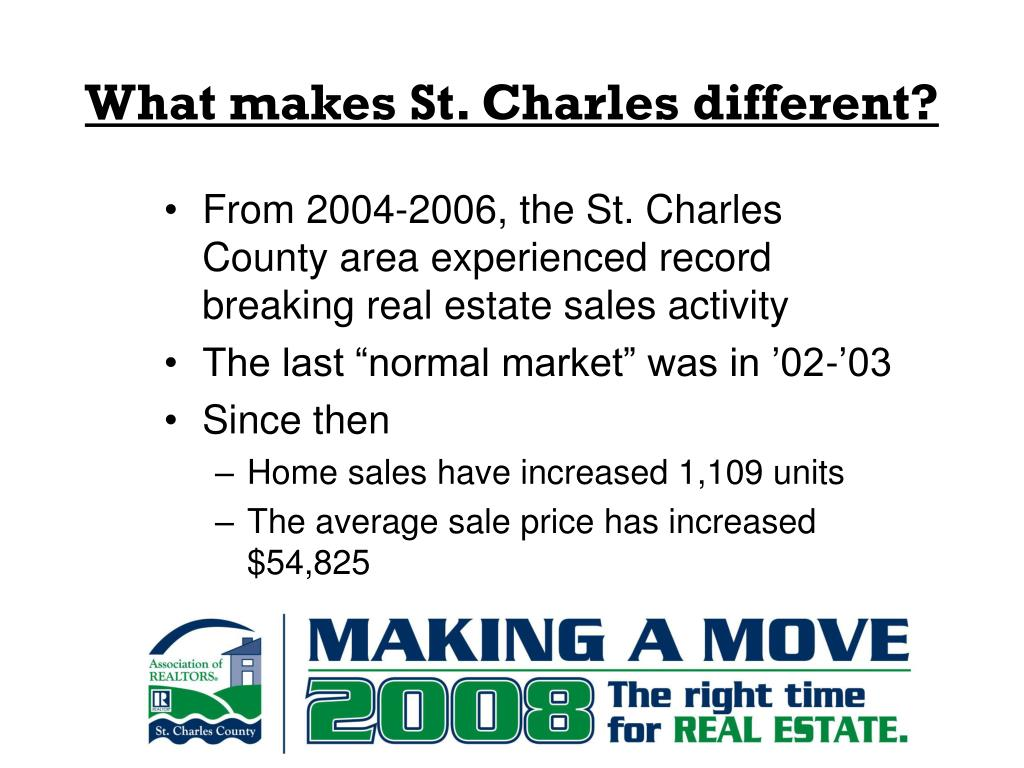 What makes St. Charles different?