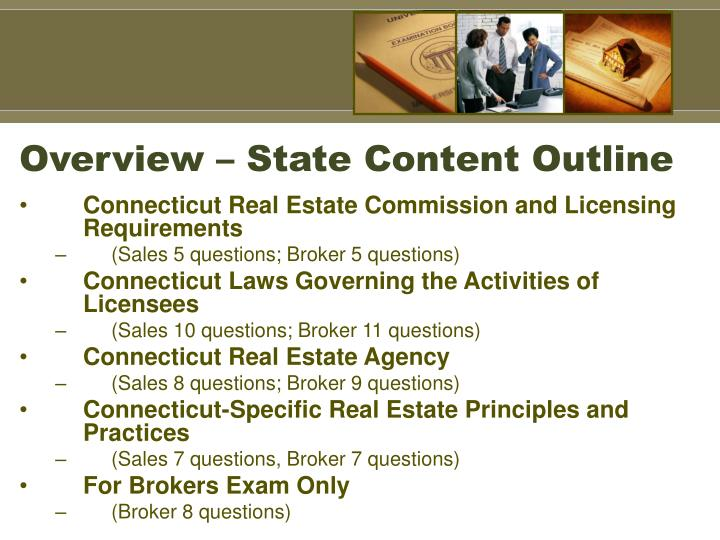 Overview state content outline