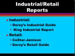 industrial retail reports