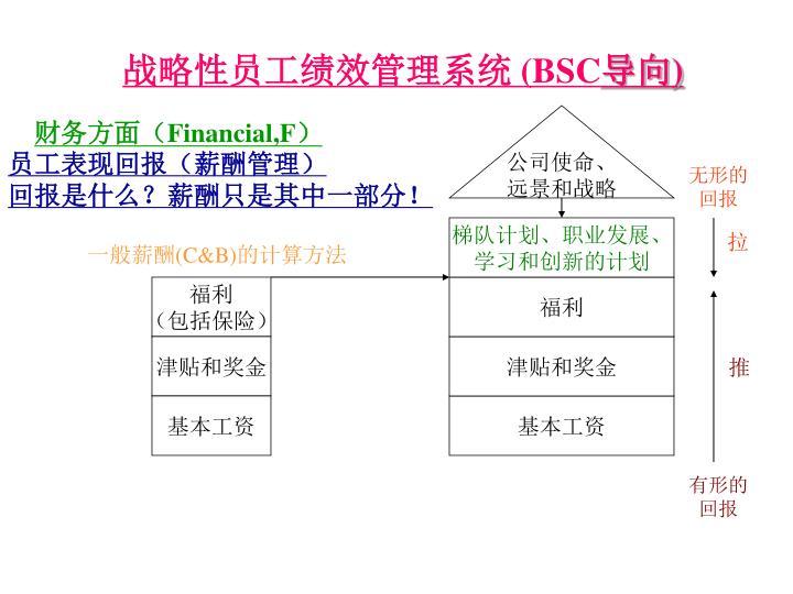 战略性员工绩效管理系统 (