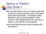 agency in practice case study 2