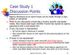 case study 1 discussion points