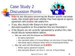 case study 2 discussion points