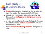 case study 3 discussion points