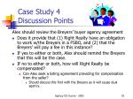 case study 4 discussion points